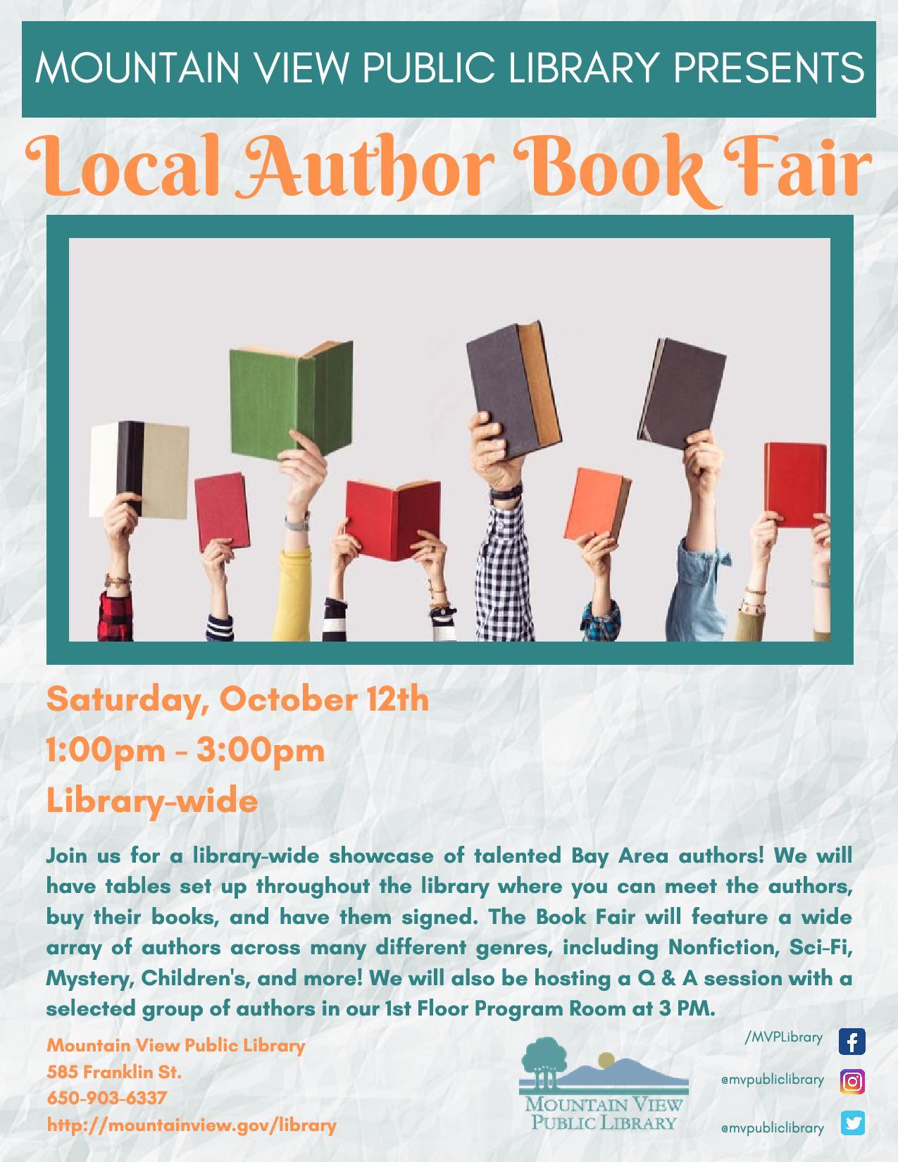 Local Author Book Fair