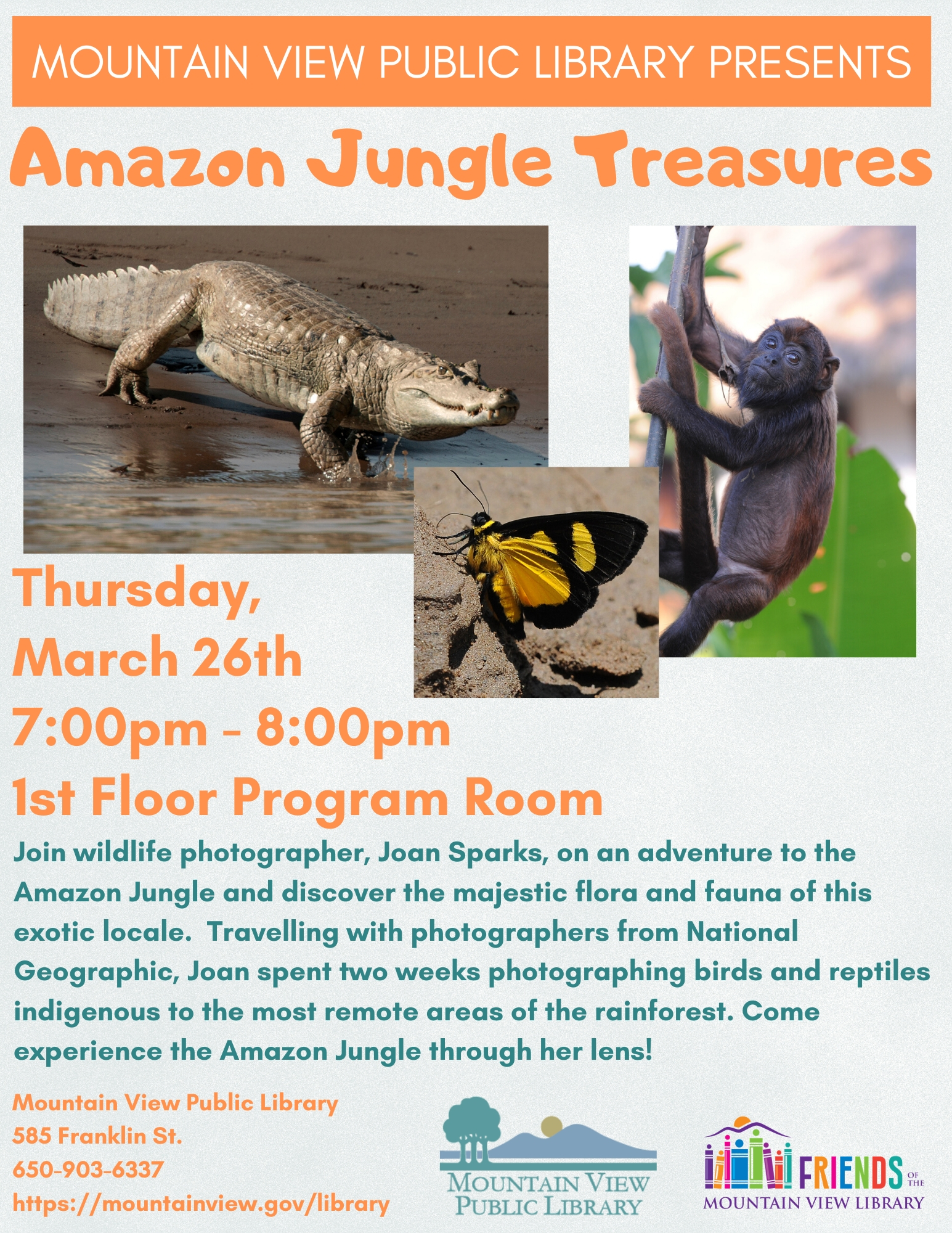 POSTPONED: Amazon Jungle Treasures