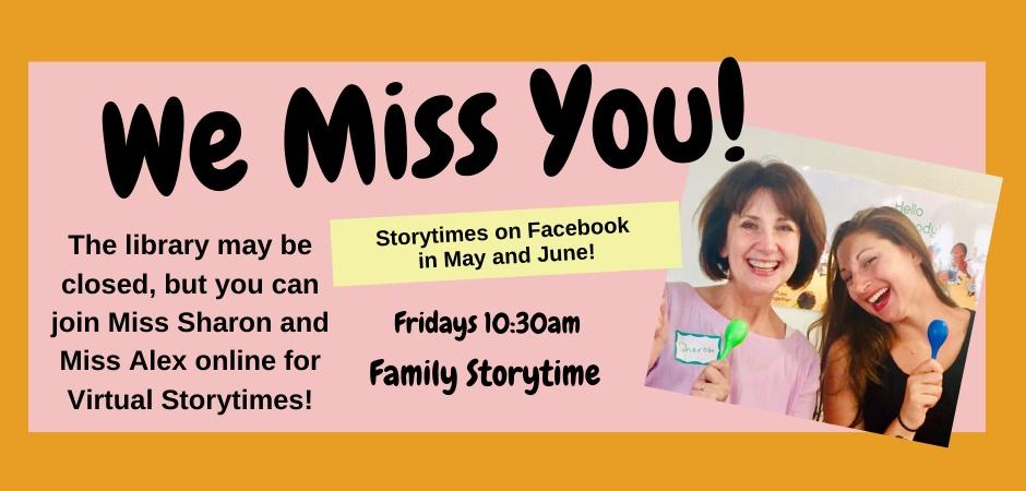 Family Storytime Online