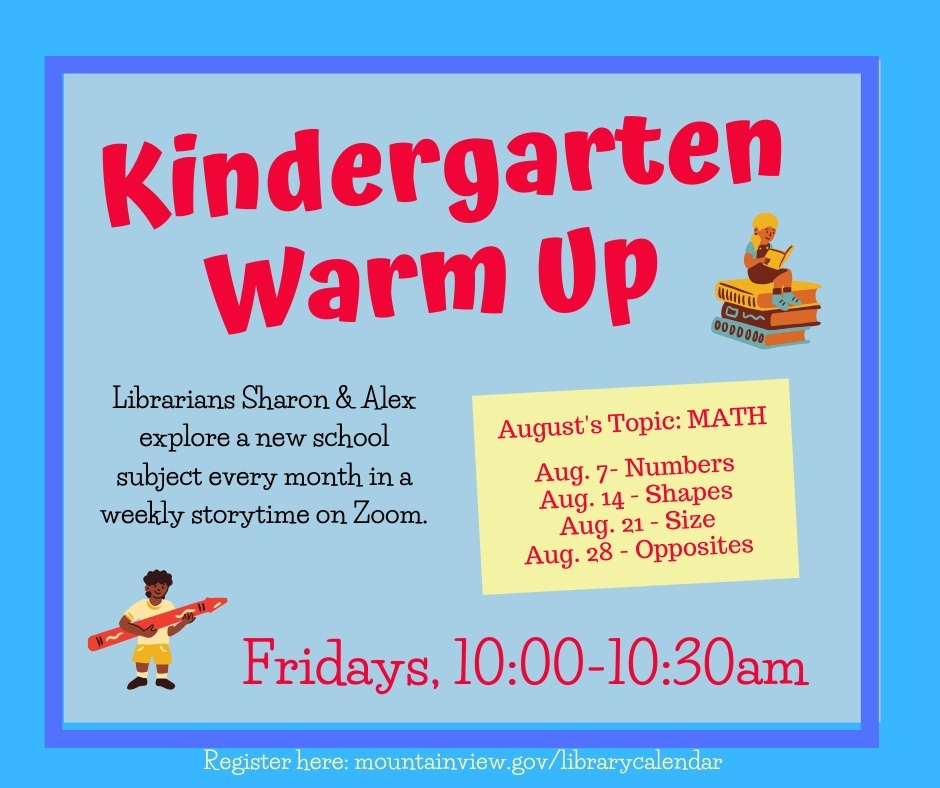 Kindergarten Warm Up - on Zoom