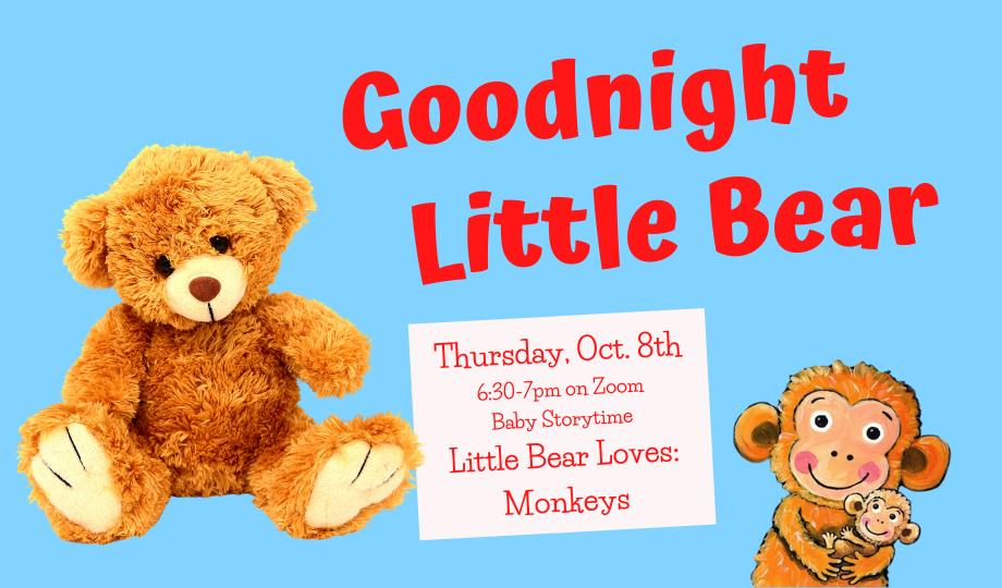 Goodnight Little Bear - on Zoom
