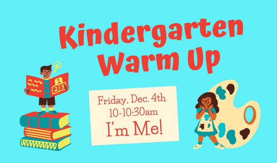 Kindergarten Warm Up - on Zoom