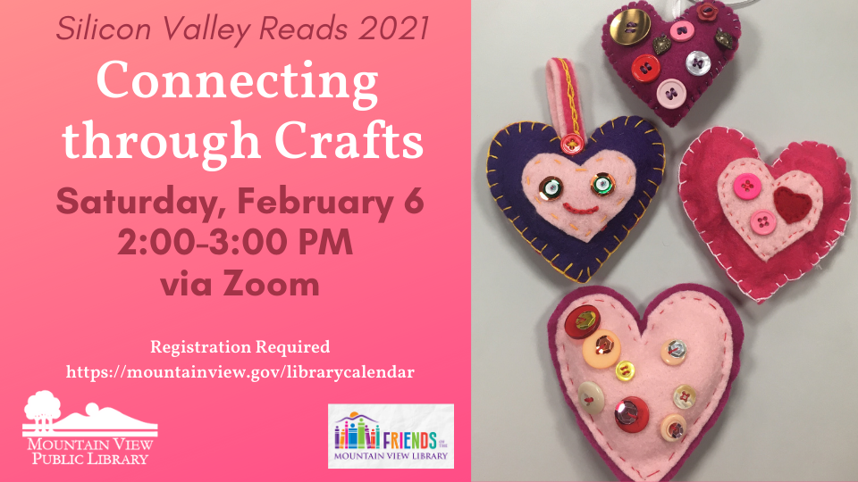 Silicon Valley Reads: Connecting through Crafts