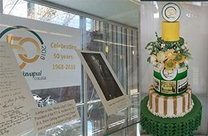 YC 50th Anniversary Display