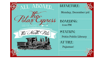 All Aboard the Polar Pajama Express @ the Miller Senior Citizens Center!