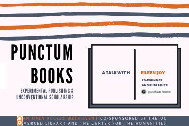 Punctum Books, experimental publishing, and unconventional scholarship
