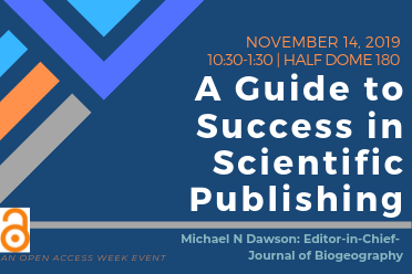 UPDATED DETAILS: A Guide to Success in Scientific Publishing