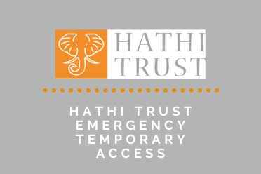 Accessing 17 Million Books via HathiTrust Emergency Temporary Access Service: A Live Zoom Session for Faculty and Graduate Students