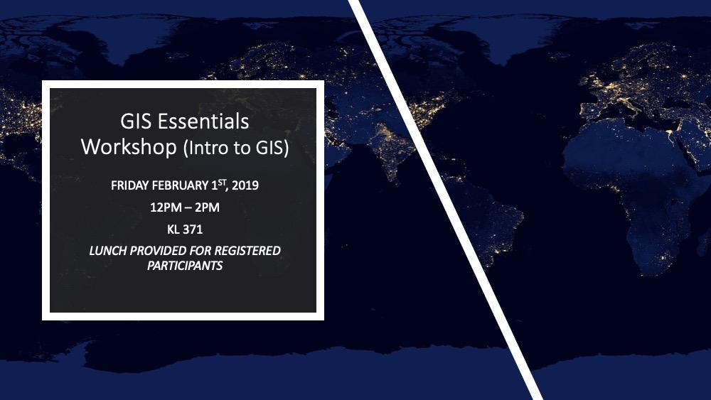 GIS Essentials Workshop