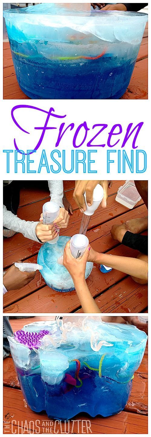 Librarian's Choice: Frozen Treasure Finding