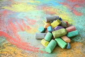 Librarians Choice: Sidewalk Chalk!