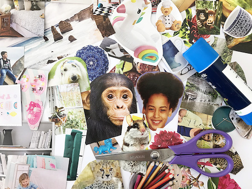 Keep Kids Creative: Collage Art with Magazines