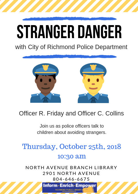 Stranger Danger with Officer Friday and Officer Collins