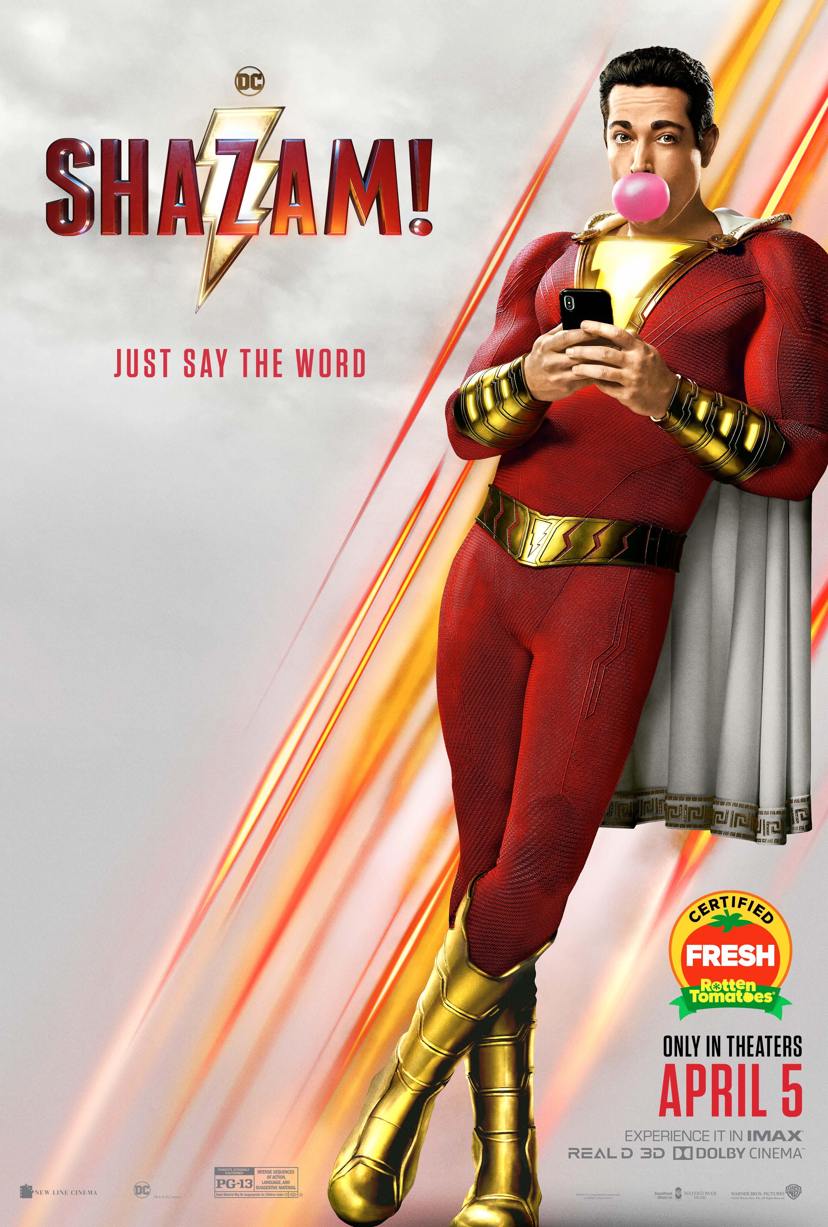 FREE Movie Time- Shazam!