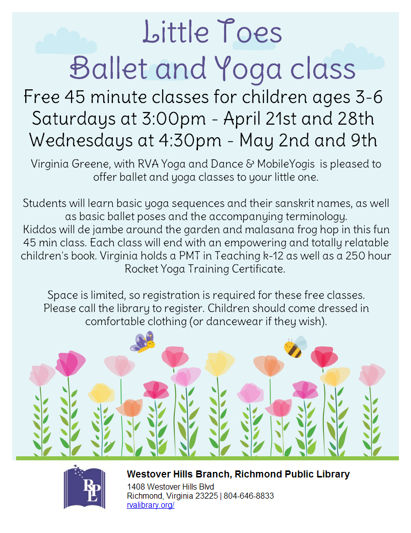 Little Toes Ballet and Yoga Class