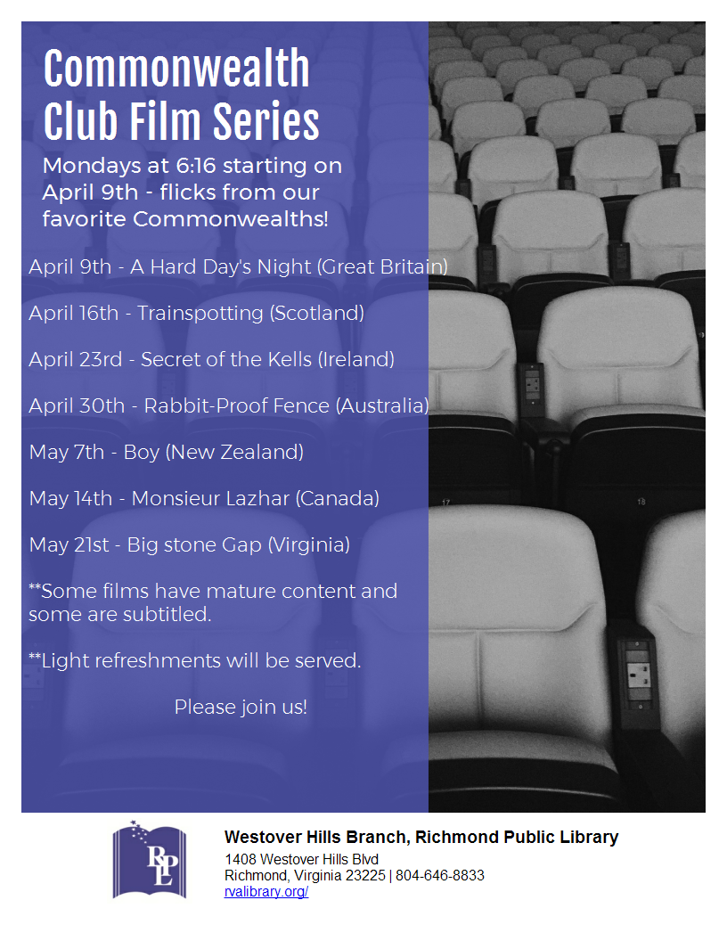 Commonwealth Club Film Series
