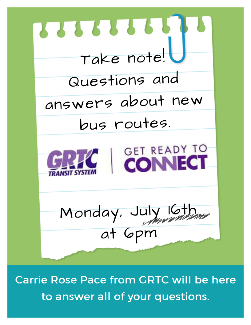 GRTC answers your questions about new bus routes!