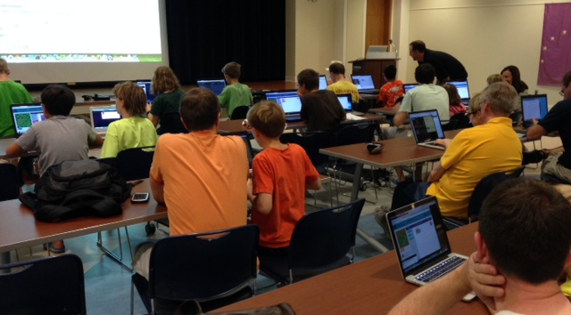 Hour of Code with Coder Dojo