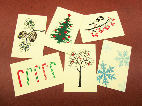Craft Time: Holiday Cards