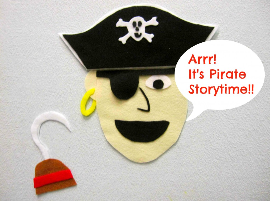 Talk Like A Pirate Day! Story time