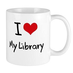 Cricut Class: I Love My Library Mug