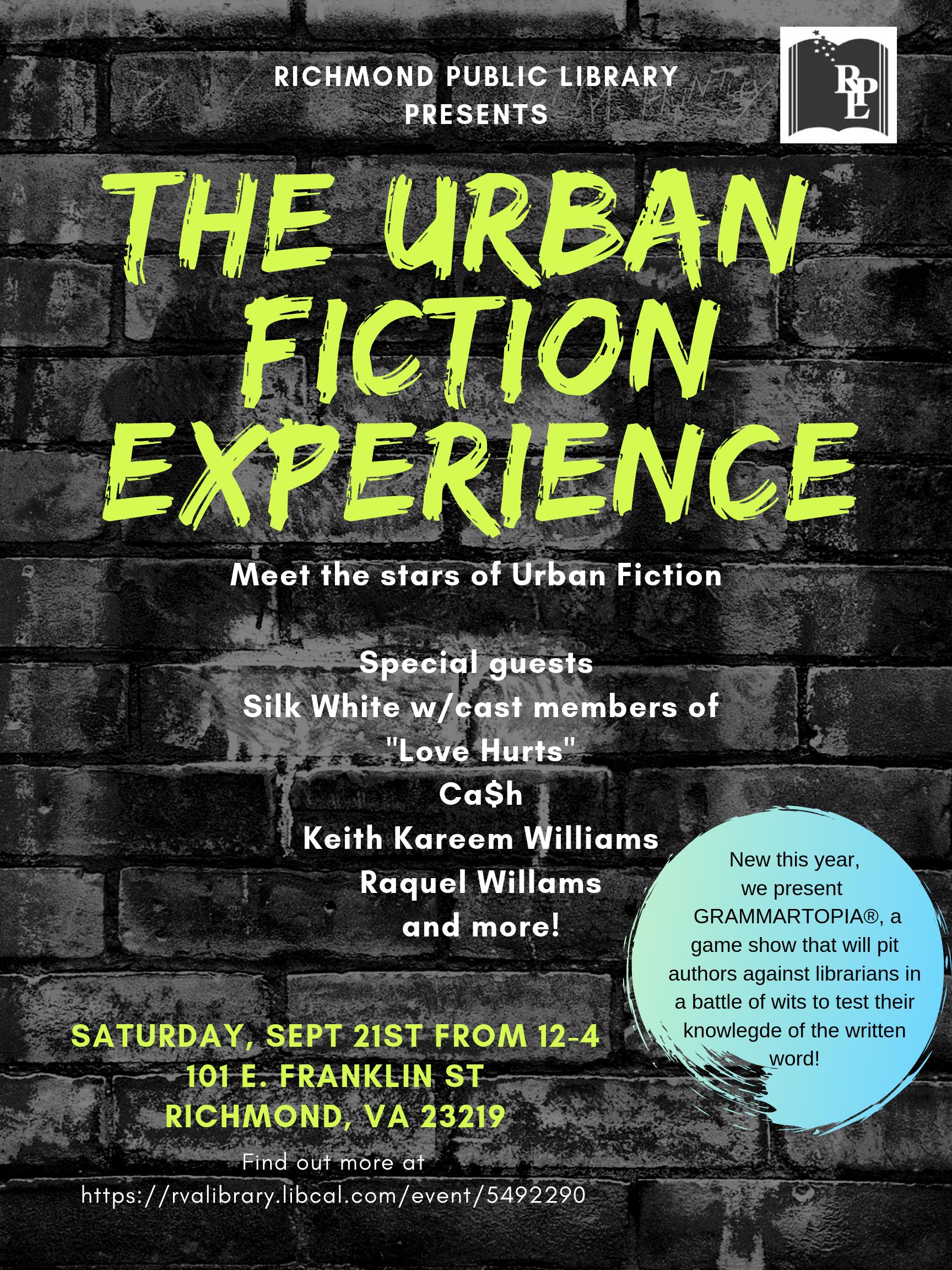 Urban Fiction Experience