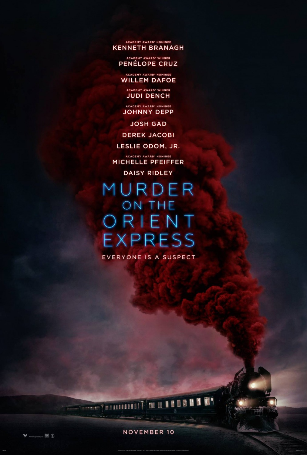 Movie Matinees @ Your Library: Murder on the Orient Express