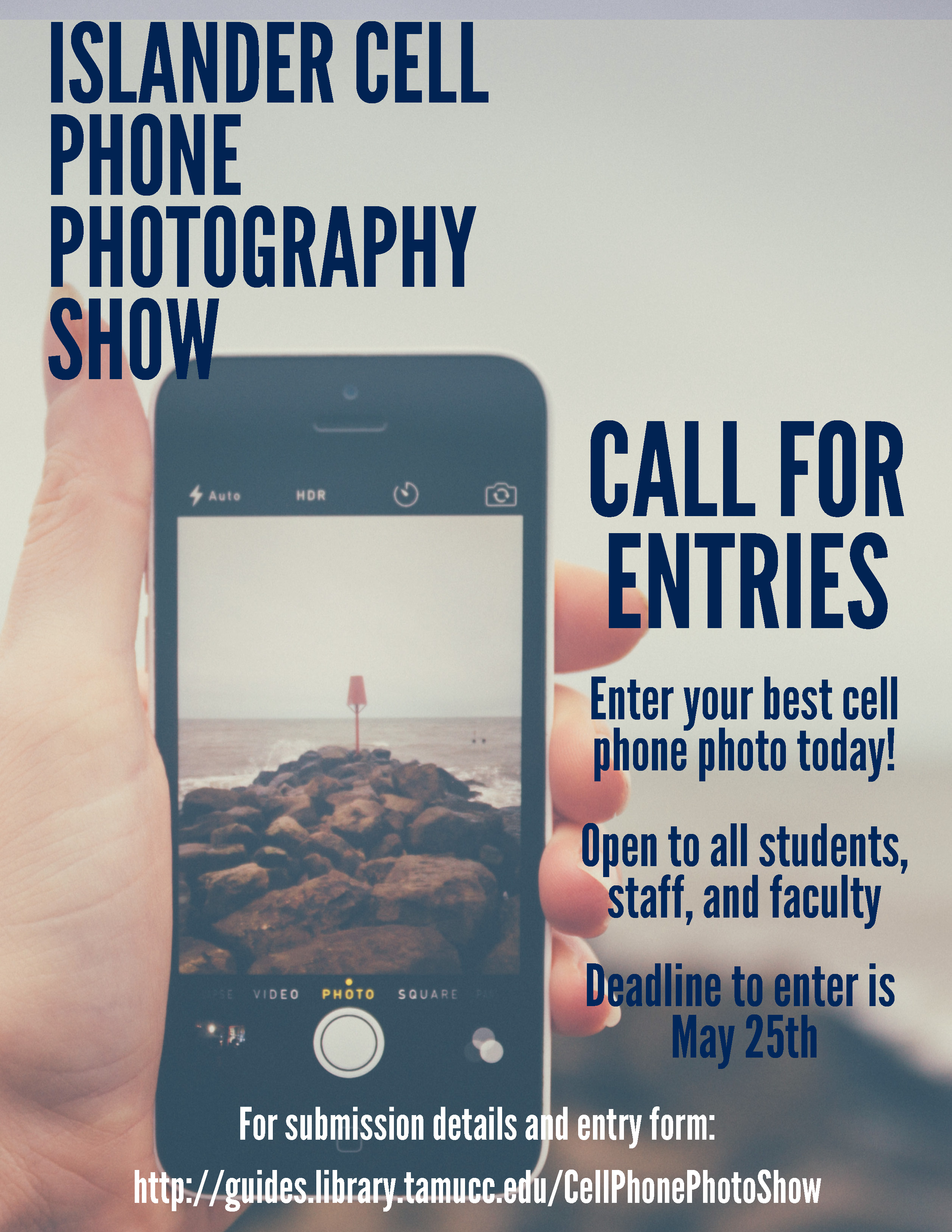 Cell Phone Photography Show - Call for Submissions Through May 25th