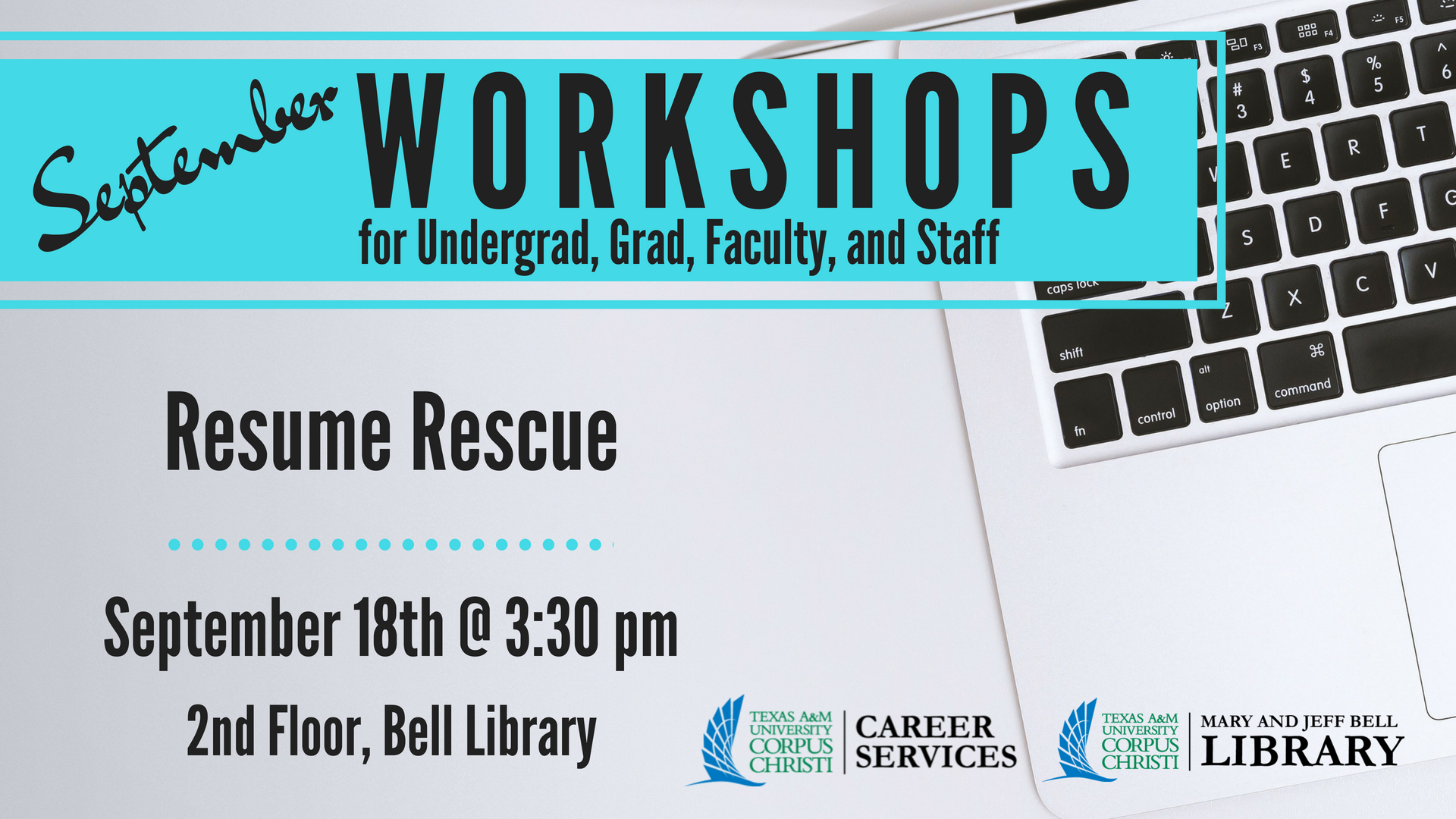 Library Workshop: Resume Rescue