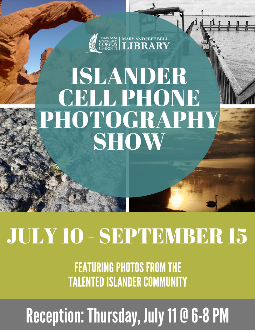 Islander Cell Phone Photography Show - Reception