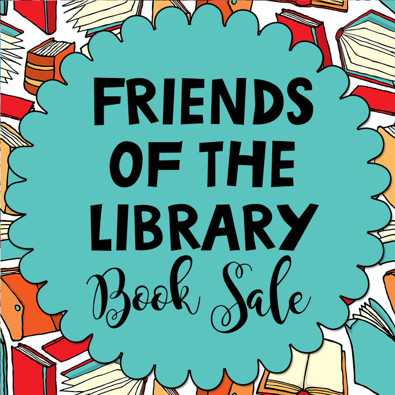 Friends of the Library Book Sale Ends