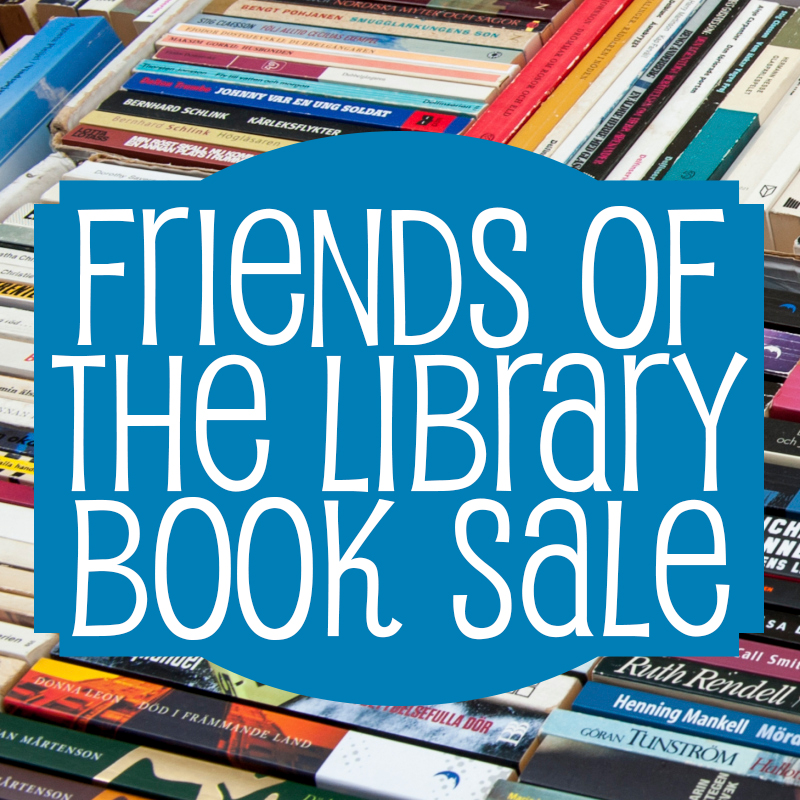 Friends Book Sale (Mannington)