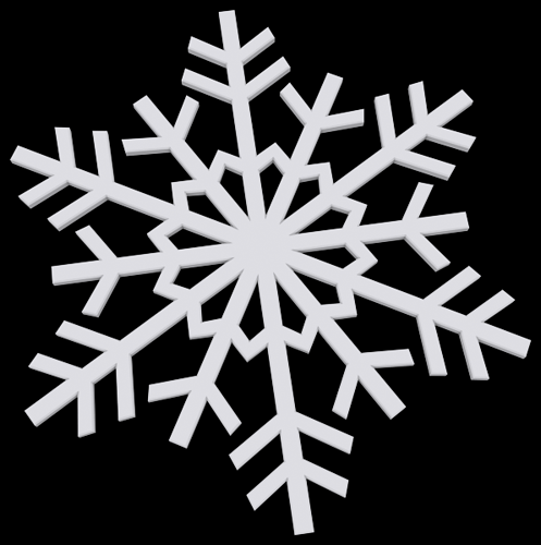 Discover: 3D Printing - Snowflakes