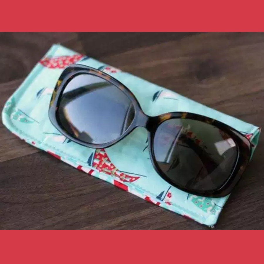 Discover: Sewing - Sunglasses Pouch