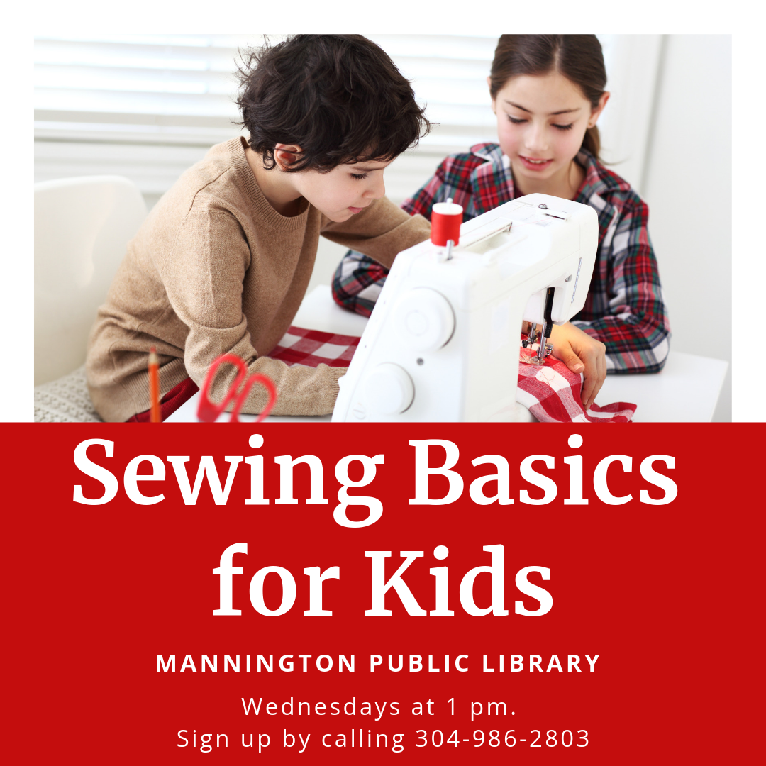 DISCOVER: Sewing Machine Basics for Kids