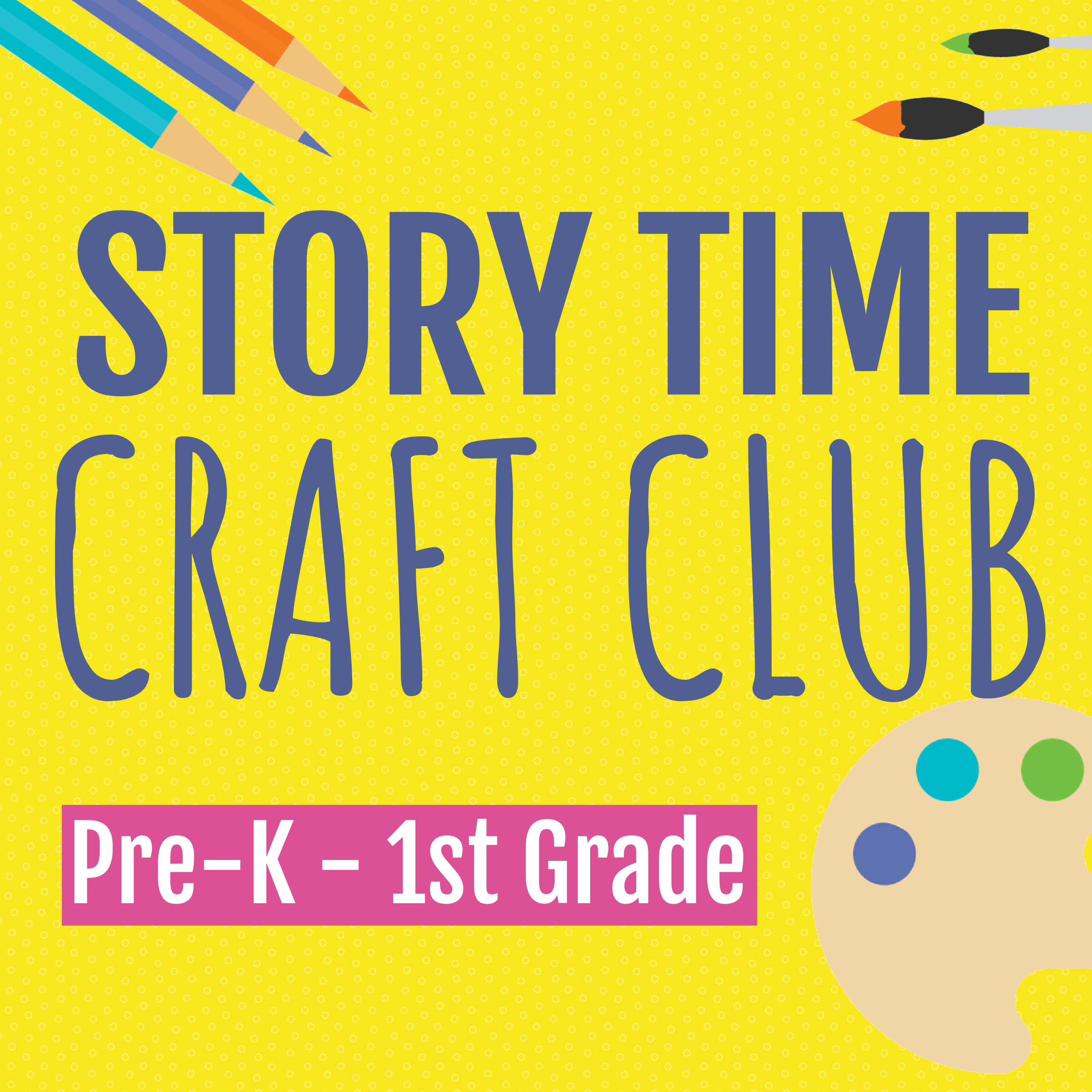 Facebook Live Story Time / Story Time Craft Club (Combined, Facebook Live)