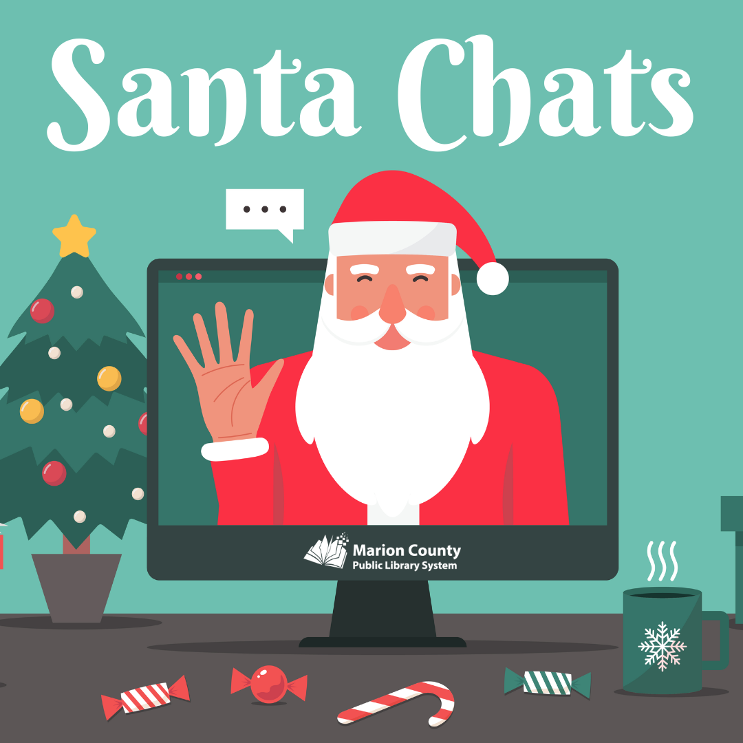 Facebook Live Event: Santa Chats at the Library