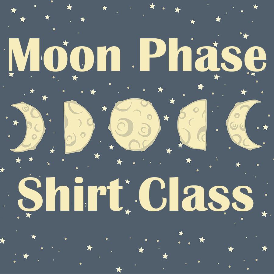 Moonphase Shirts