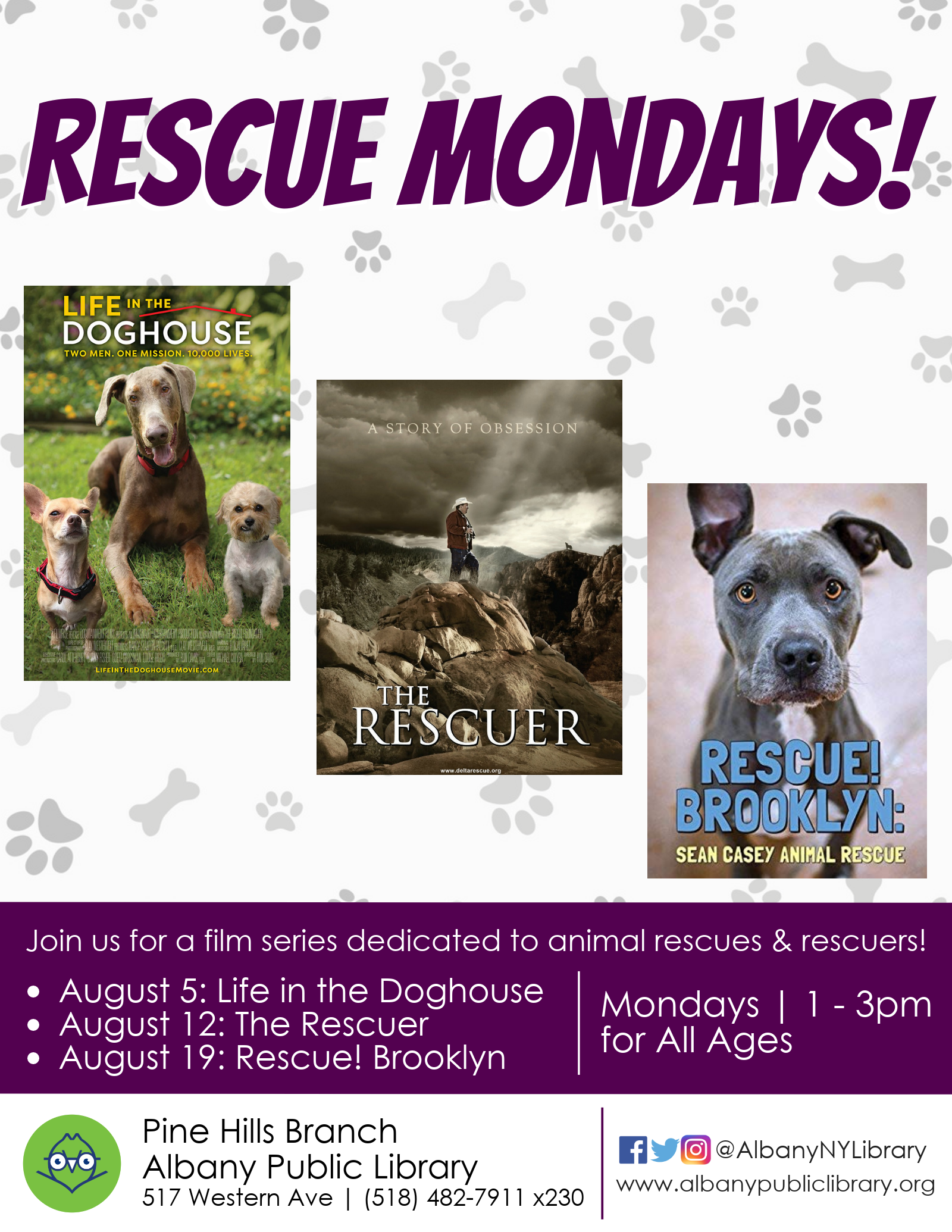 Rescue Mondays: Films about animal rescuers in action!