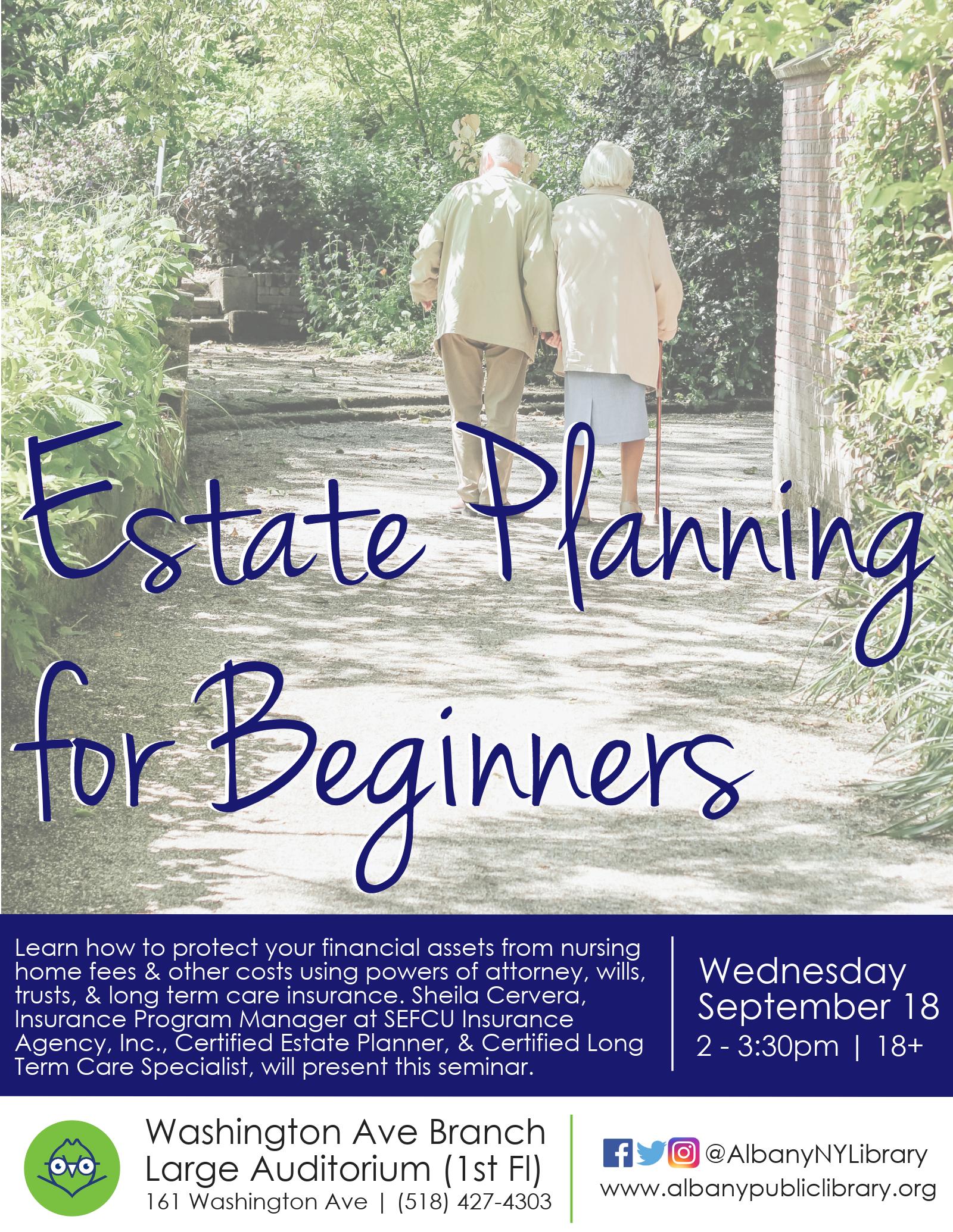 CANCELED Wills & Estate Planning