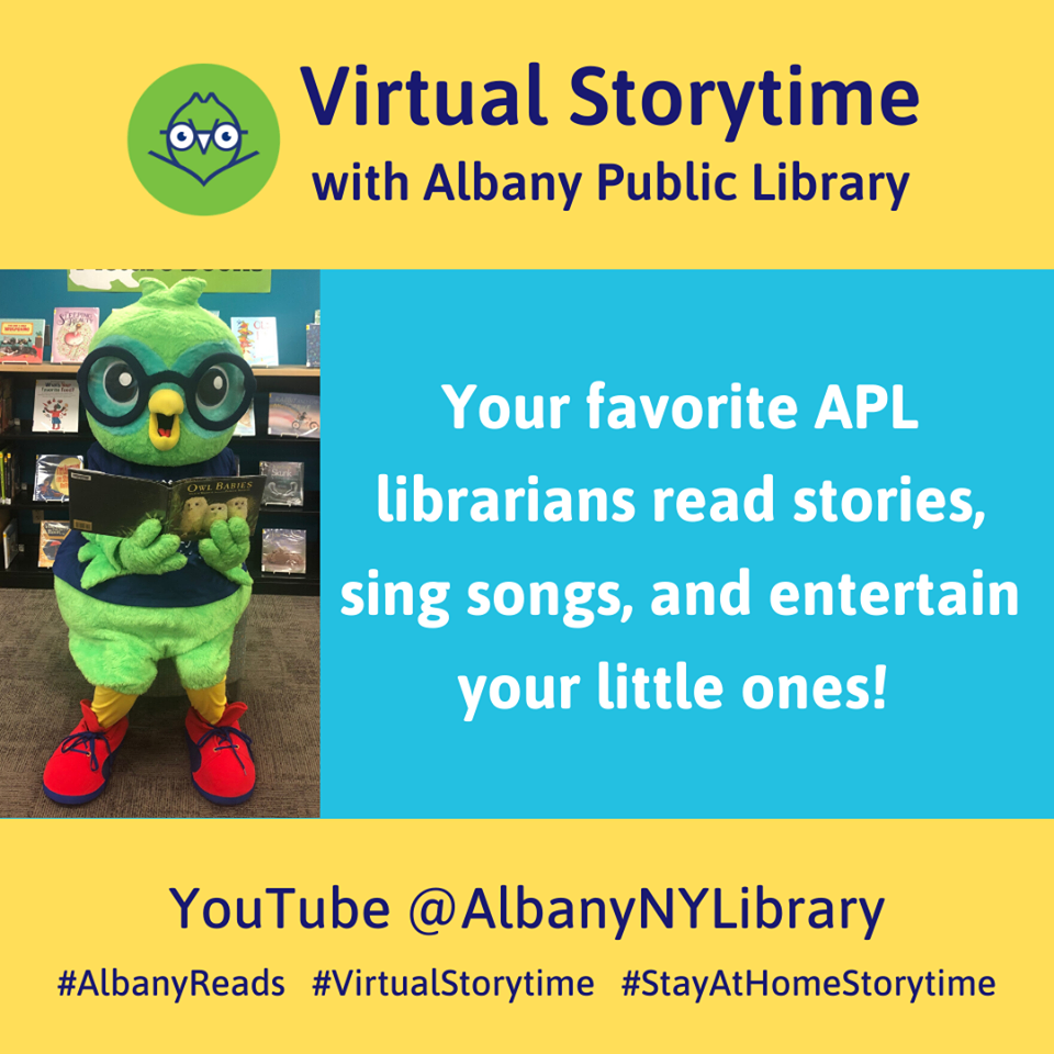 Virtual Storytime with Miss Alex