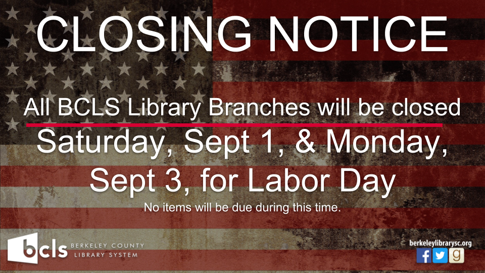 CLOSED: Labor Day