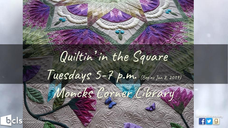 Quiltin' in the Square