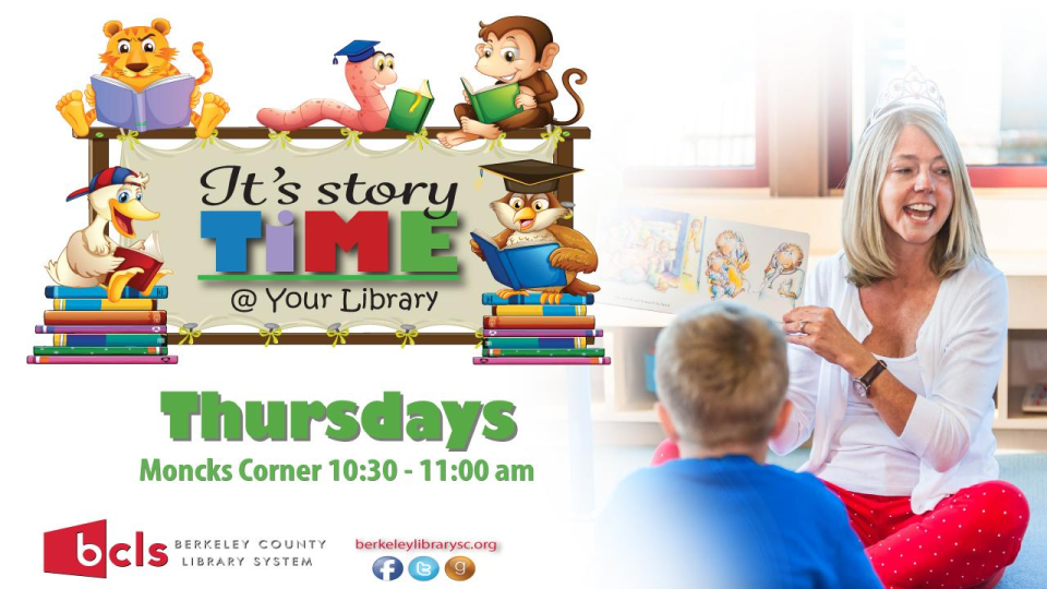 Storytime @ Your Library