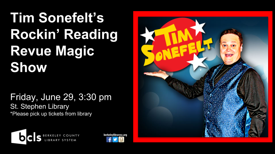 Tim Sonefelt's Rockin' Reading Revue Magic Show