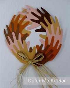 MLK Peace Wreath Craft in a Bag