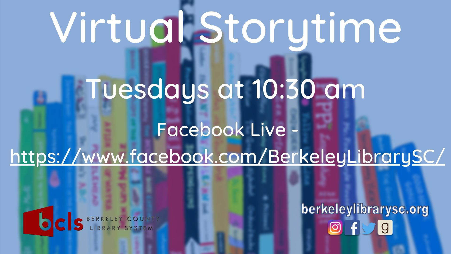 Facebook Live Storytime!