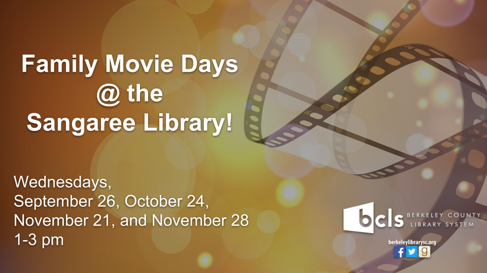 Family Movie Days @ the Sangaree Library