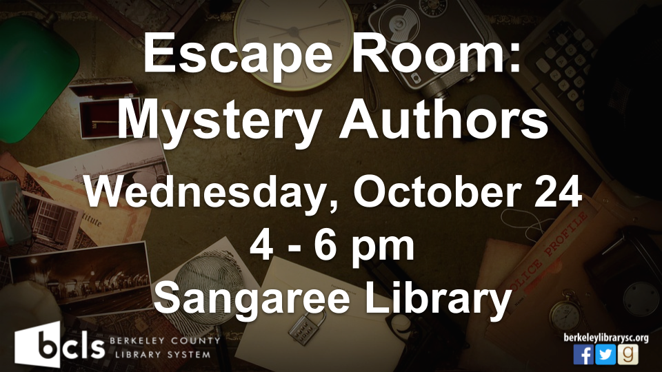 Escape Room: Mystery Authors