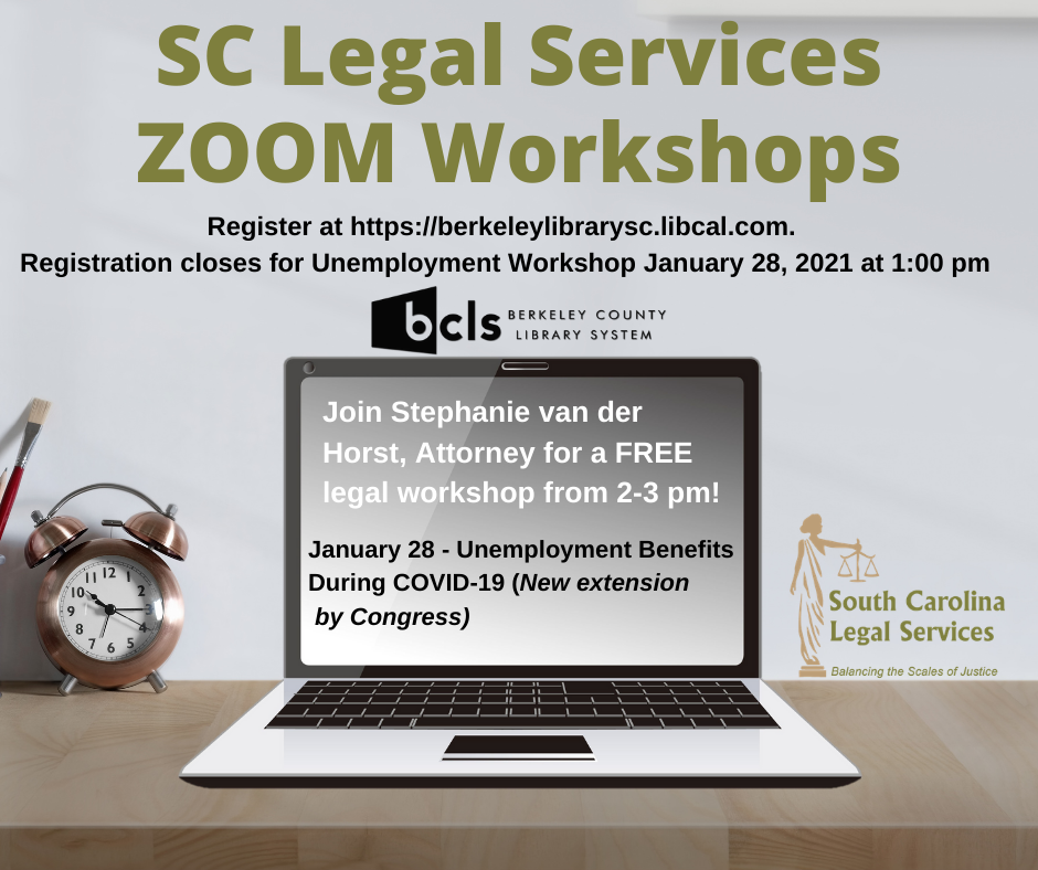 SC Legal Services Zoom Workshop